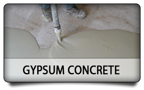 Gypsum Concrete - K-Wall